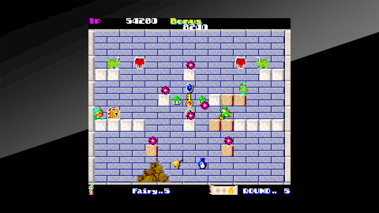 Arcade Archives Solomon's Key Review Screenshot 2