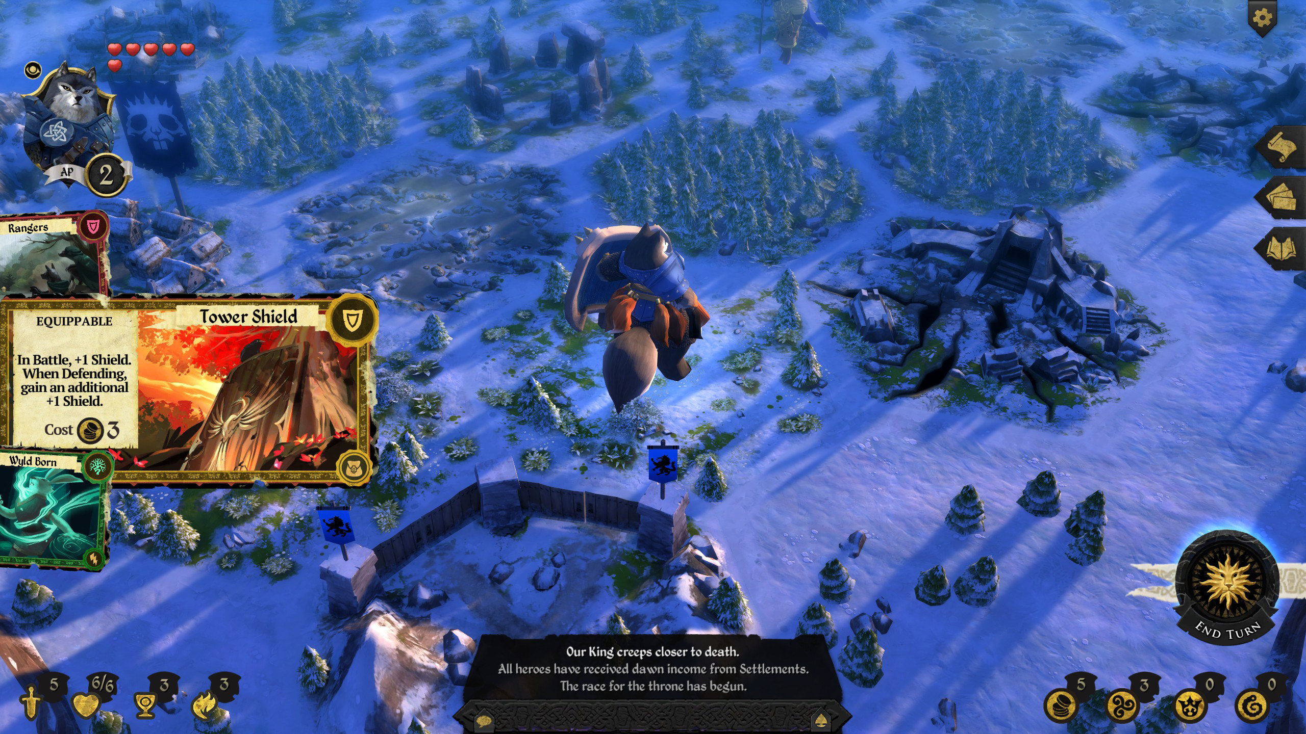 Armello The Usurpers Hero Pack Review Screenshot 1