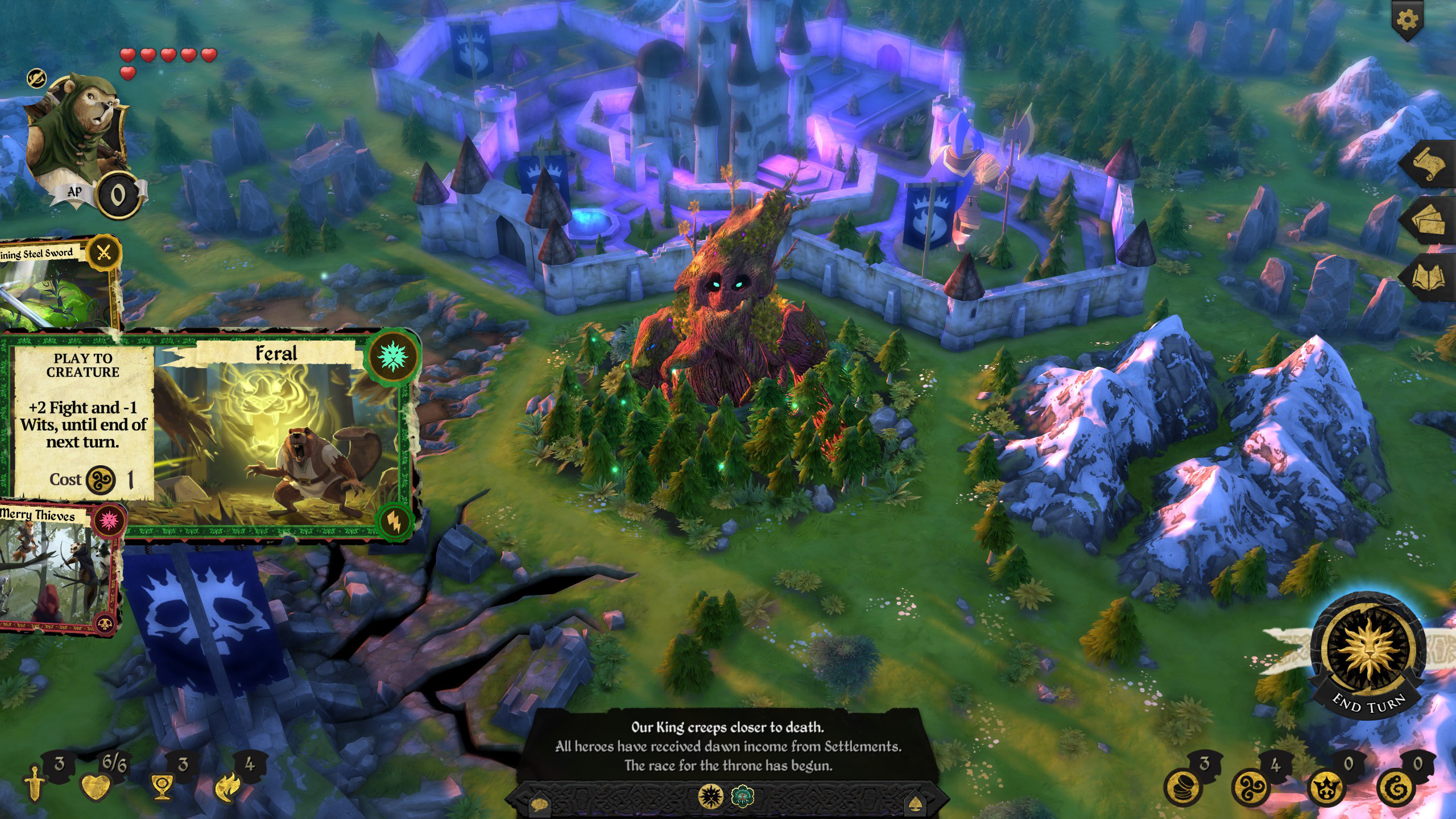 Armello The Usurpers Hero Pack Review Screenshot 2