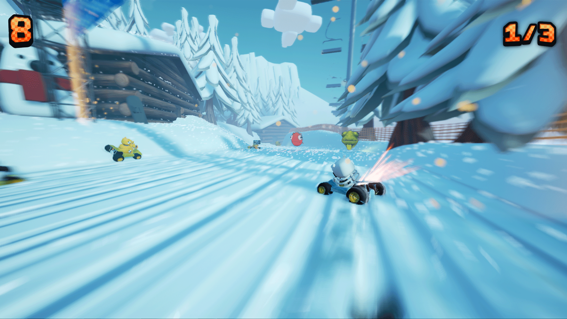 Bears Can't Drift!? PS4 Review Screenshot 1