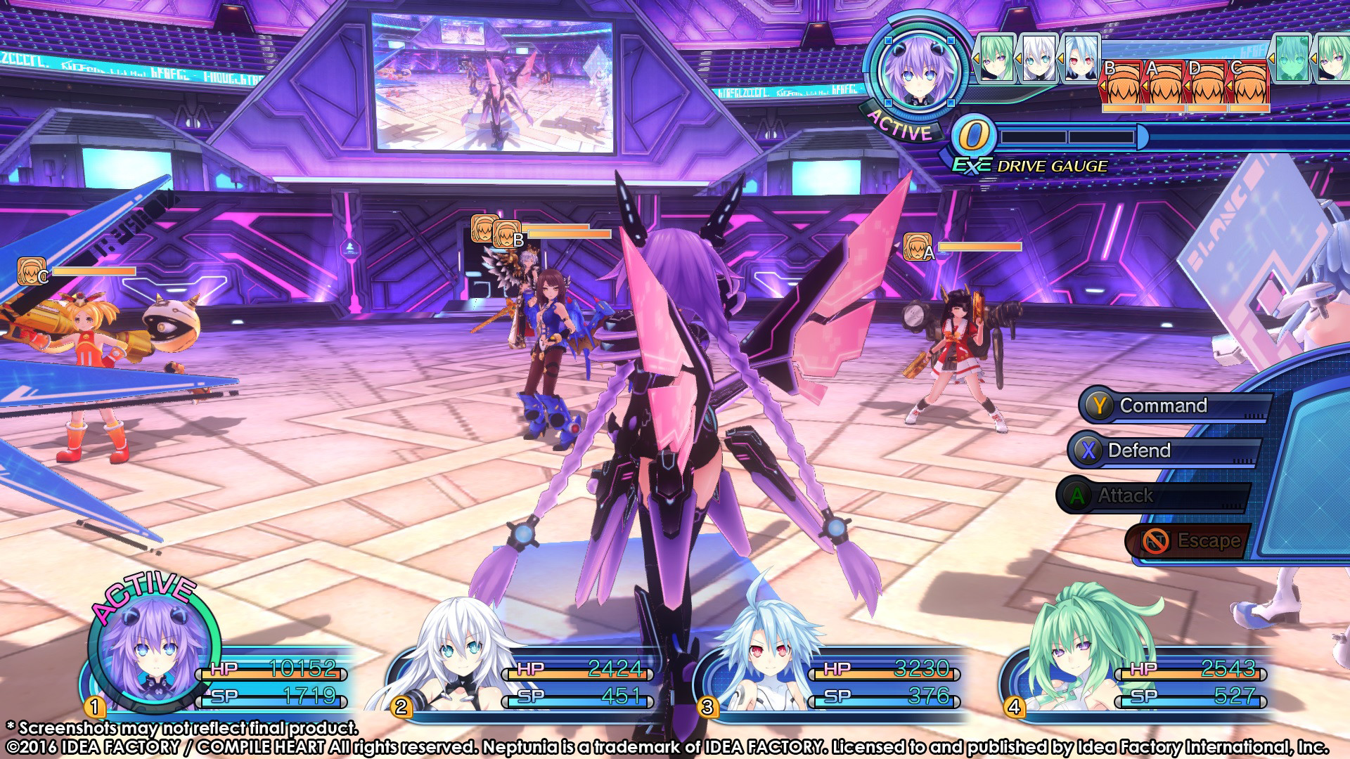 Megadimension Neptunia VII Review Screenshot 2
