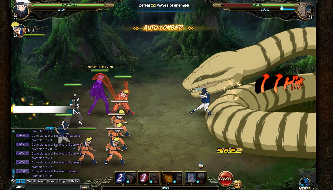 NARUTO ONLINE Review Screenshot 1
