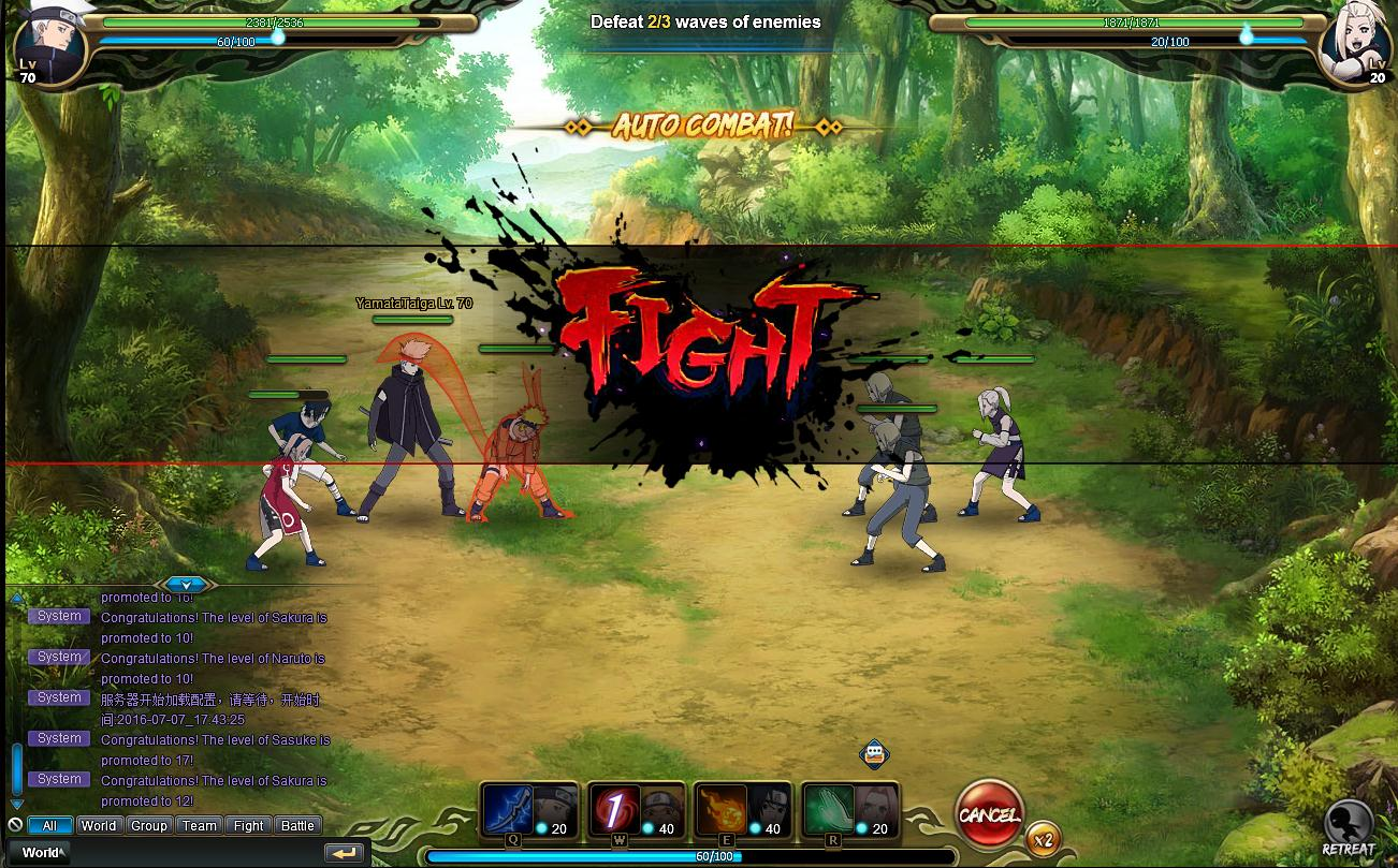 NARUTO ONLINE Review Screenshot 2
