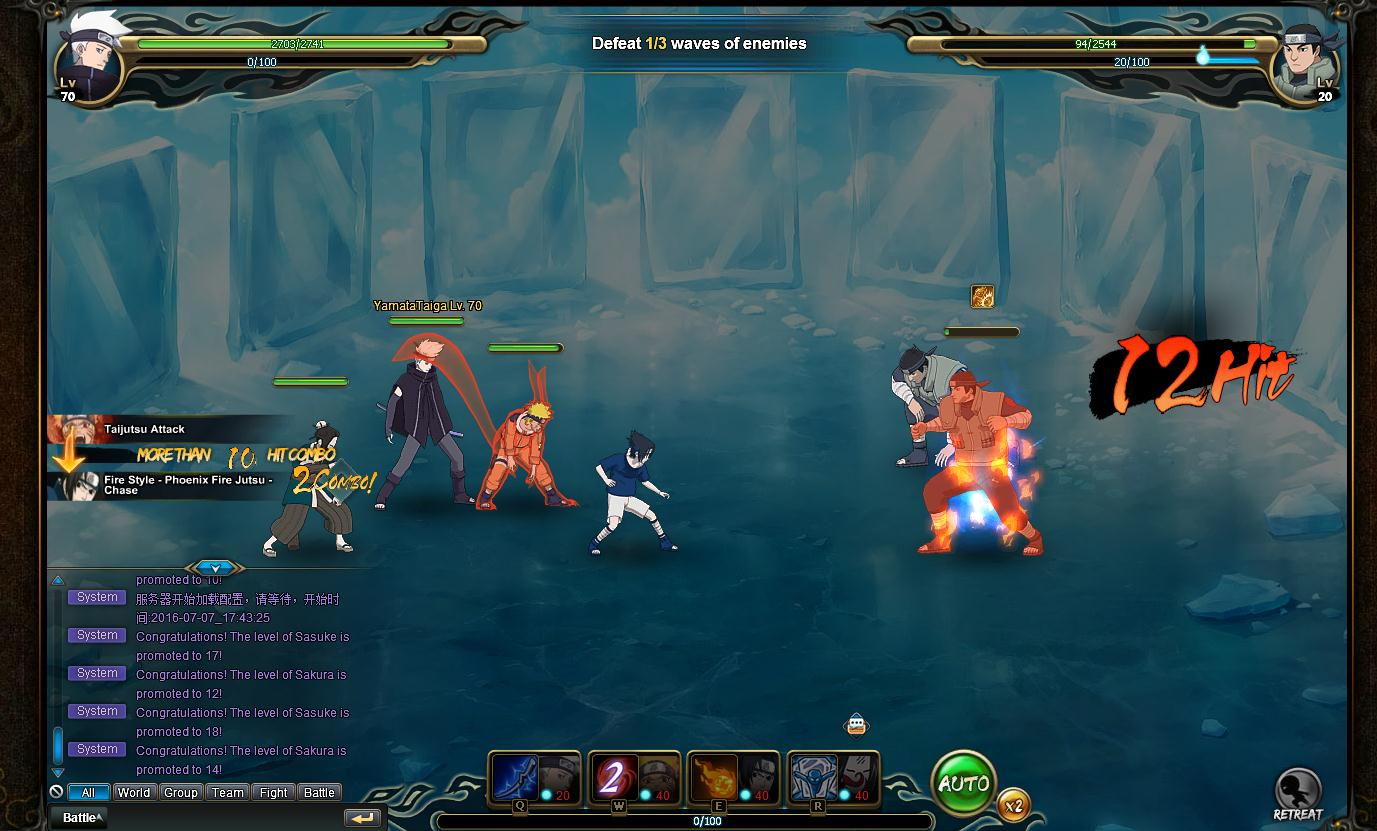 NARUTO ONLINE Review Screenshot 3