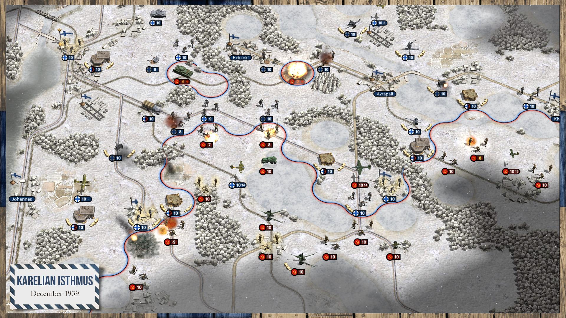 Order of Battle Winter War Review Screenshot 1