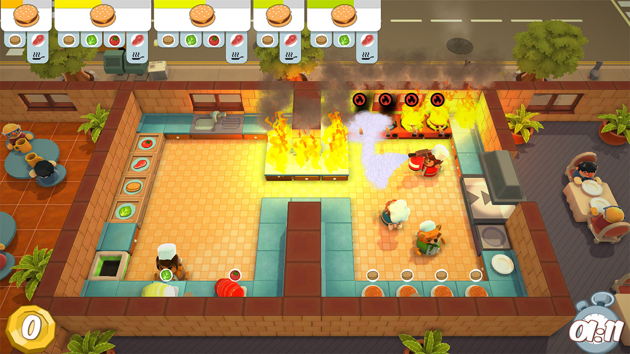 Overcooked PS4 Review Screenshot 1