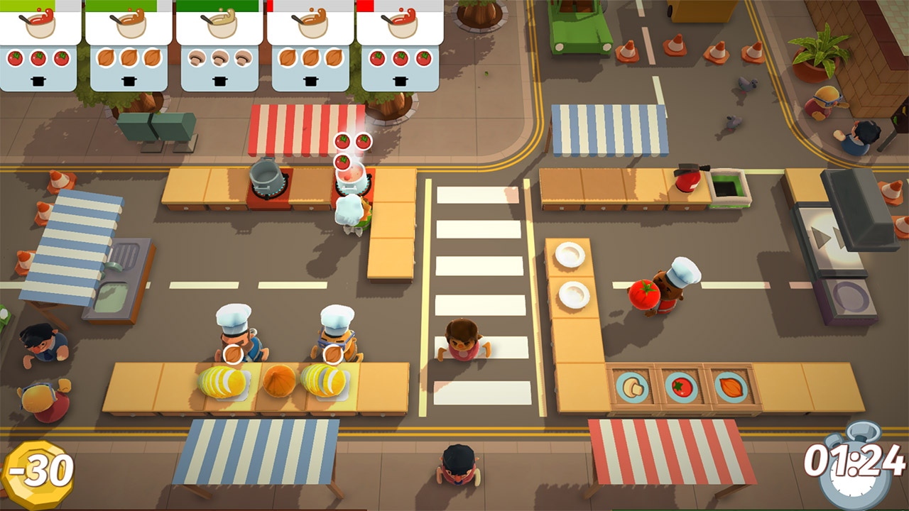 Overcooked PS4 Review Screenshot 2