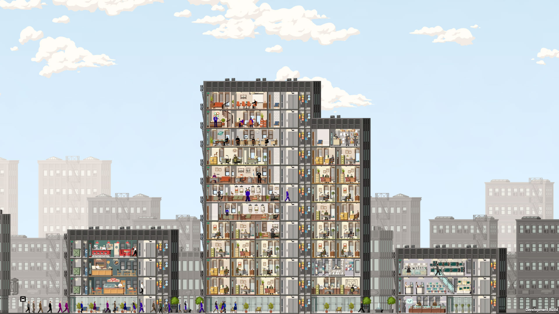 Project Highrise Review Screenshot 1
