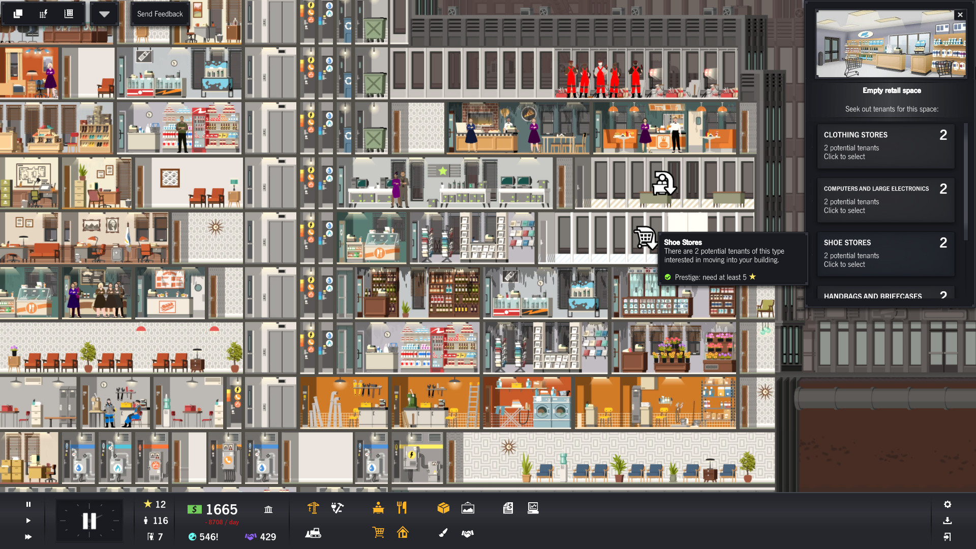 Project Highrise Review Screenshot 2