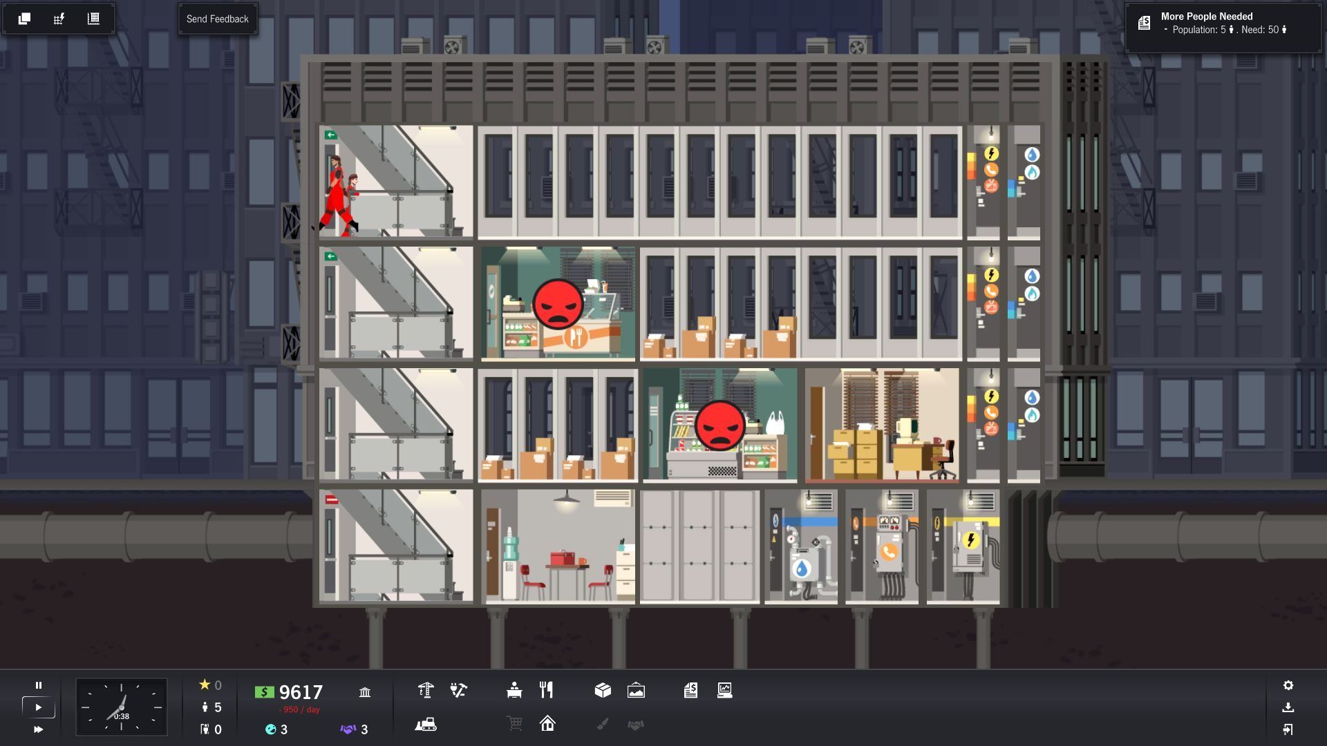 Project Highrise Review Screenshot 3