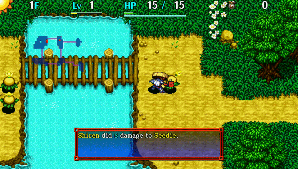 Shiren The Wanderer The Tower of Fortune and the Dice of Fate Review Screenshot 2