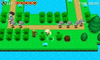 The Legend of Kusakari 3DS Review Screenshot 1