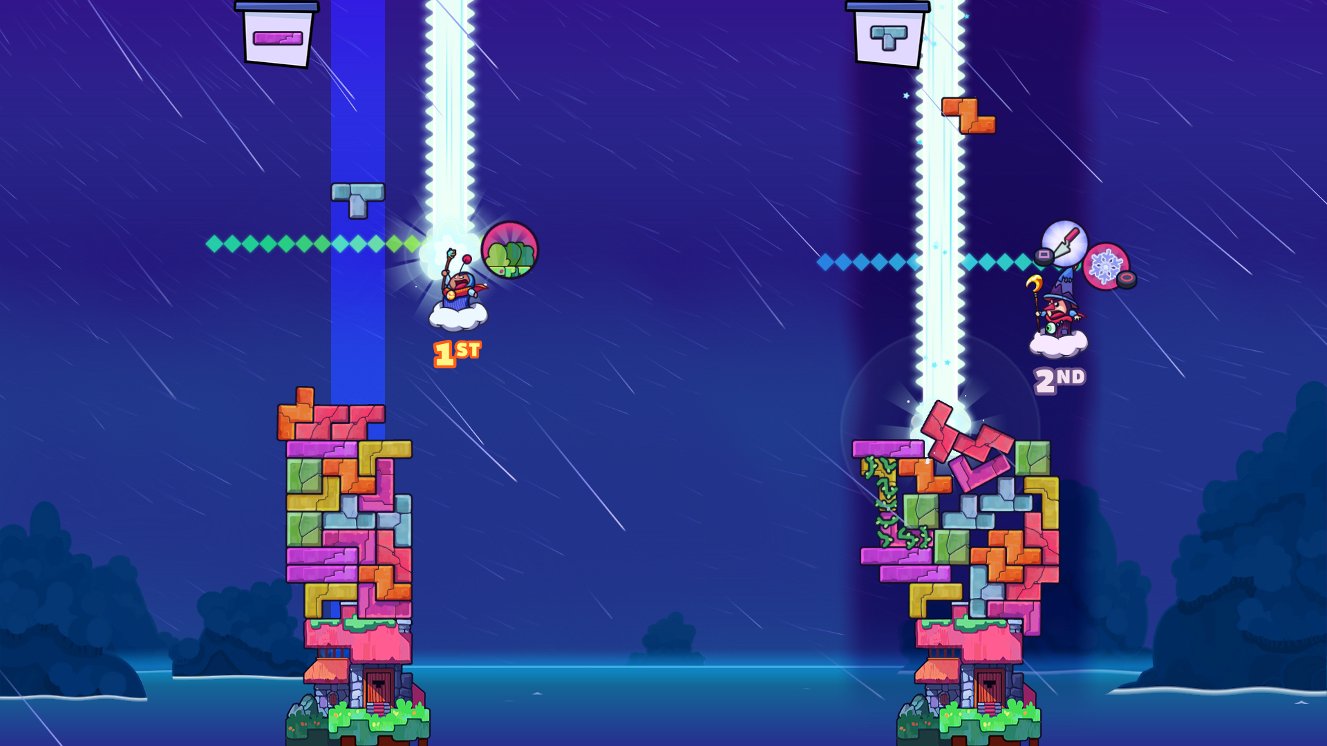 Tricky Towers Review Screenshot 1