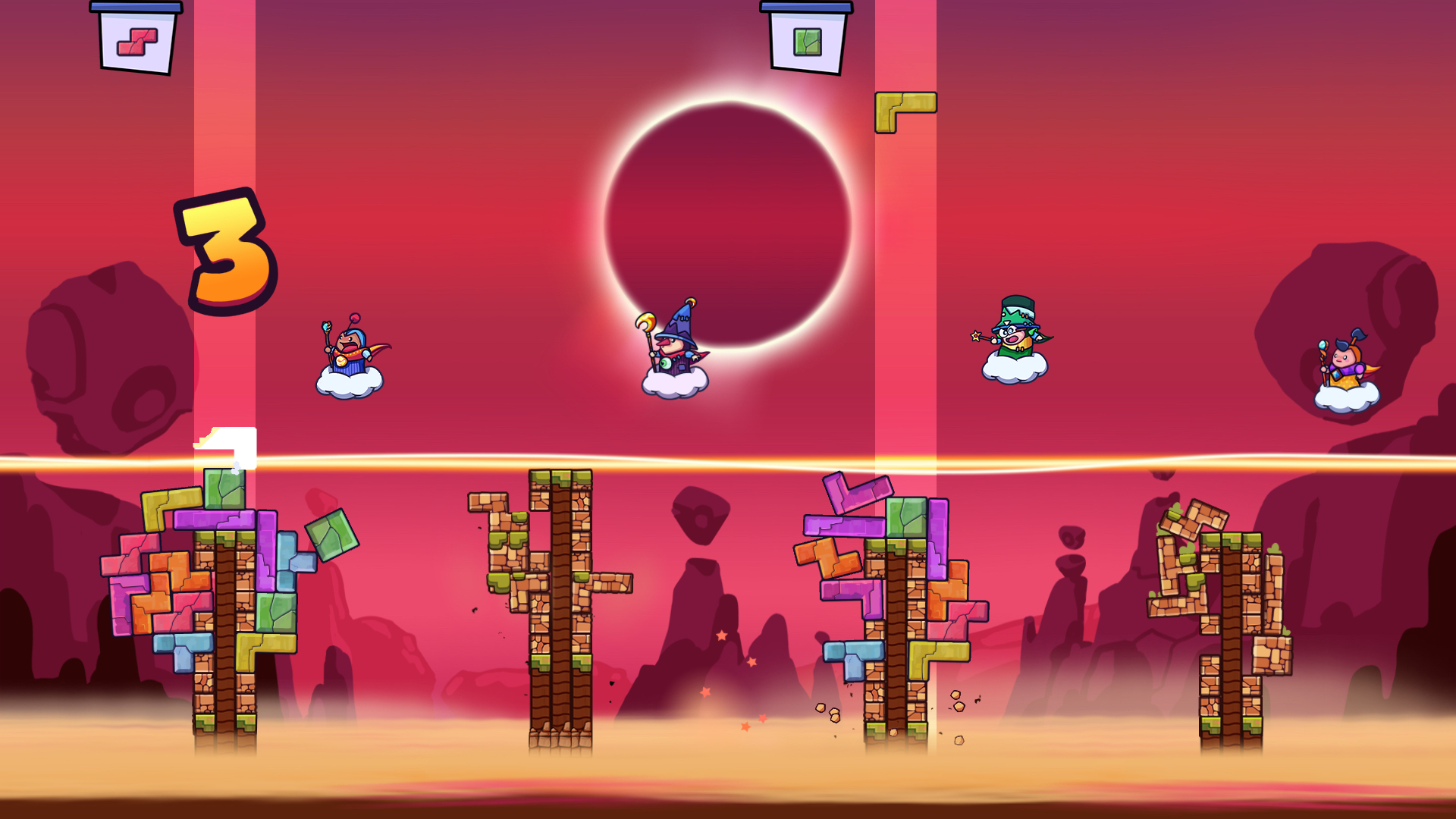 Tricky Towers Review Screenshot 2