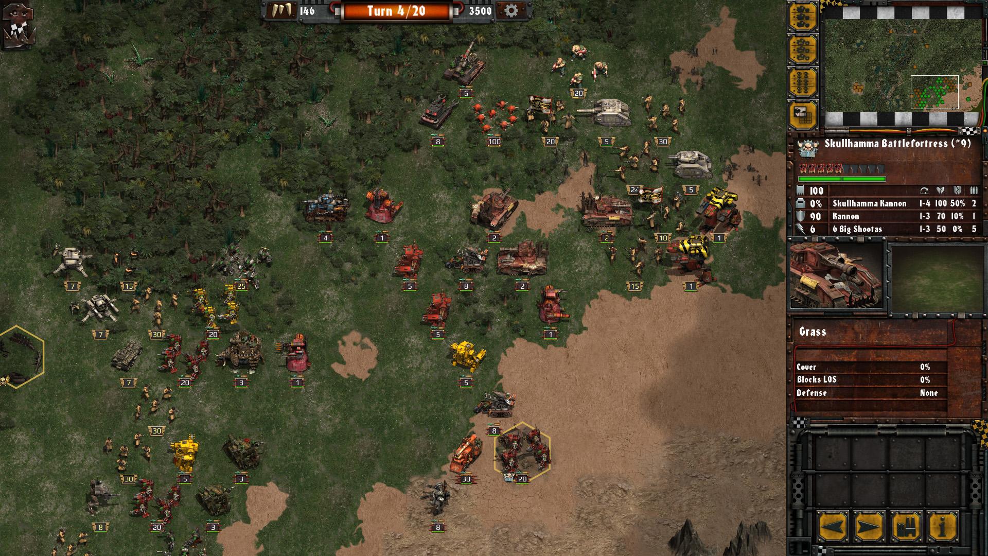 Warhammer 40,000 Armageddon Da Orks Review Screenshot 3