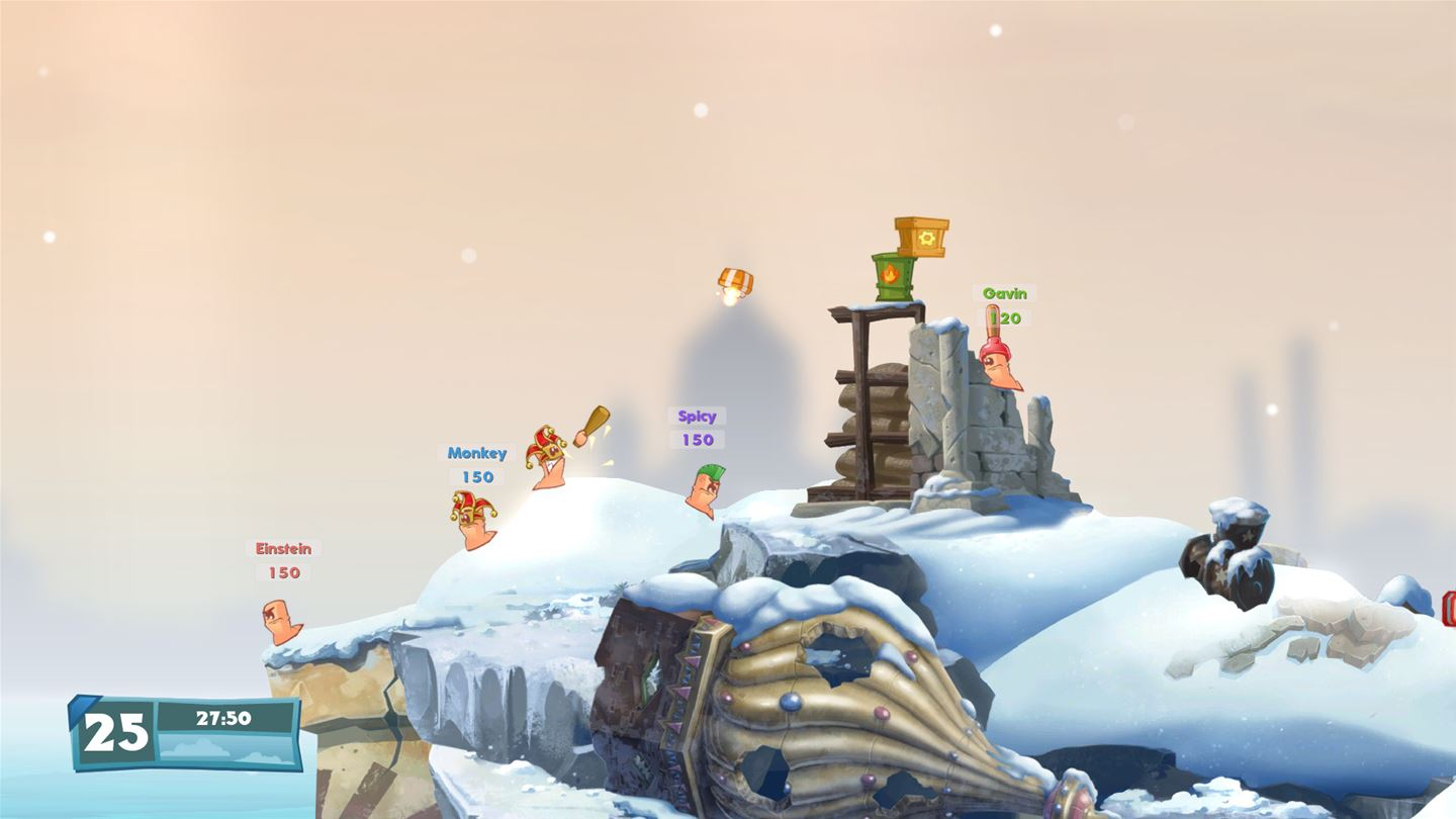 Worms W.M.D All-Stars Edition Review Screenshot 2