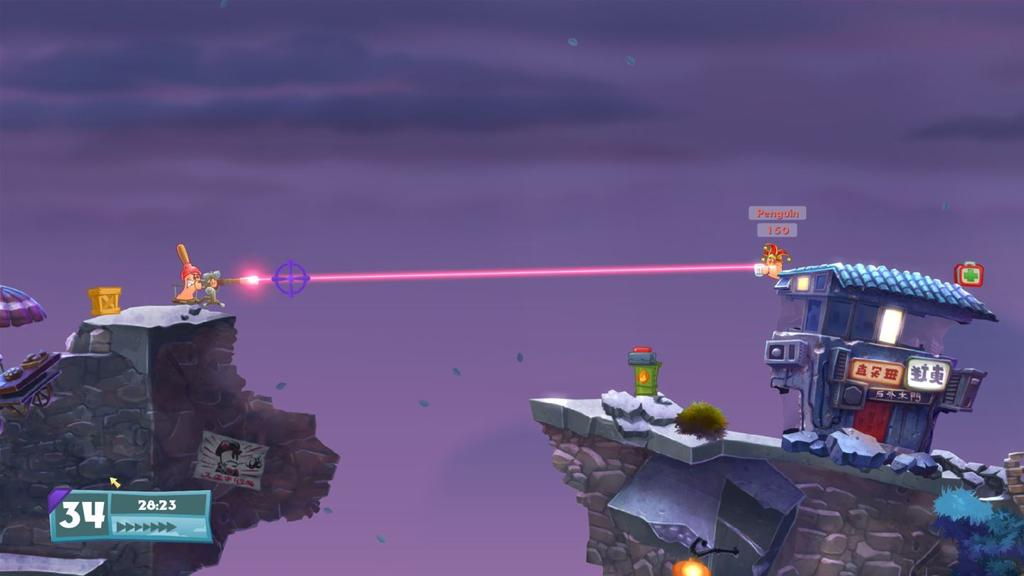 Worms W.M.D All-Stars Edition Review Screenshot 3
