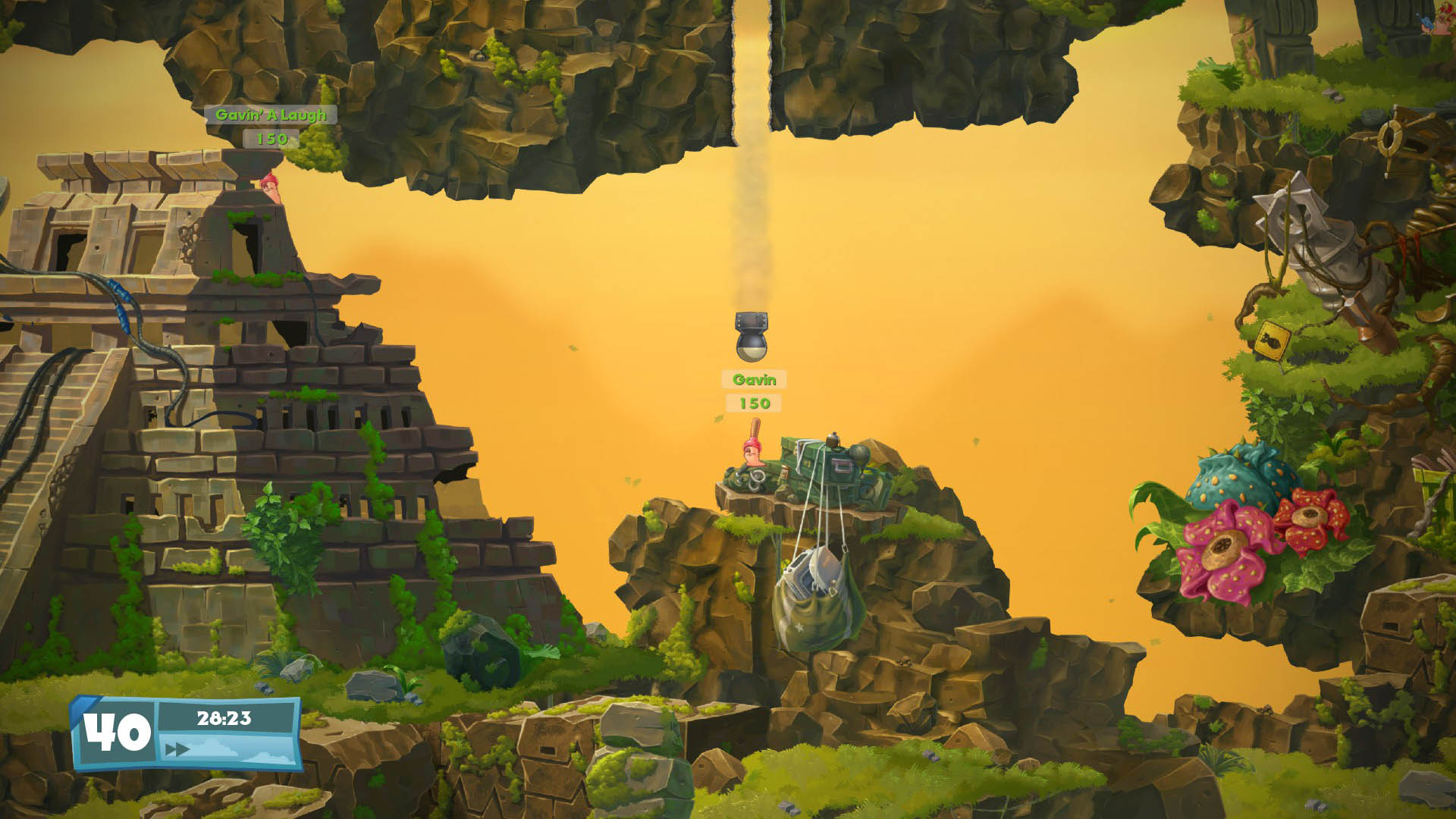 Worms W.M.D PS4 Review Screenshot 3