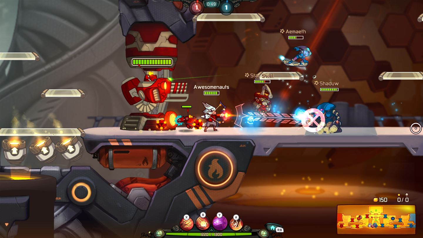 awesomenauts-assemble-ultimate-overdrive-collectors-pack-review-screenshot-1
