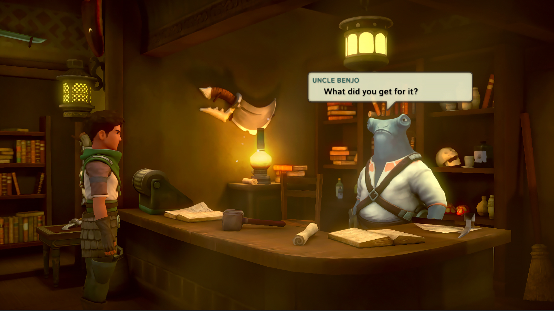 Earthlock Festival of Magic Xbox One Review Screenshot 1