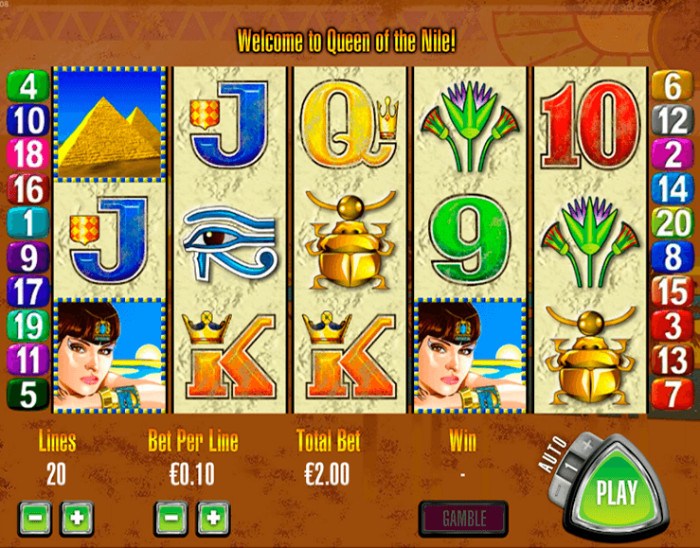 queen-of-the-nile-pokie