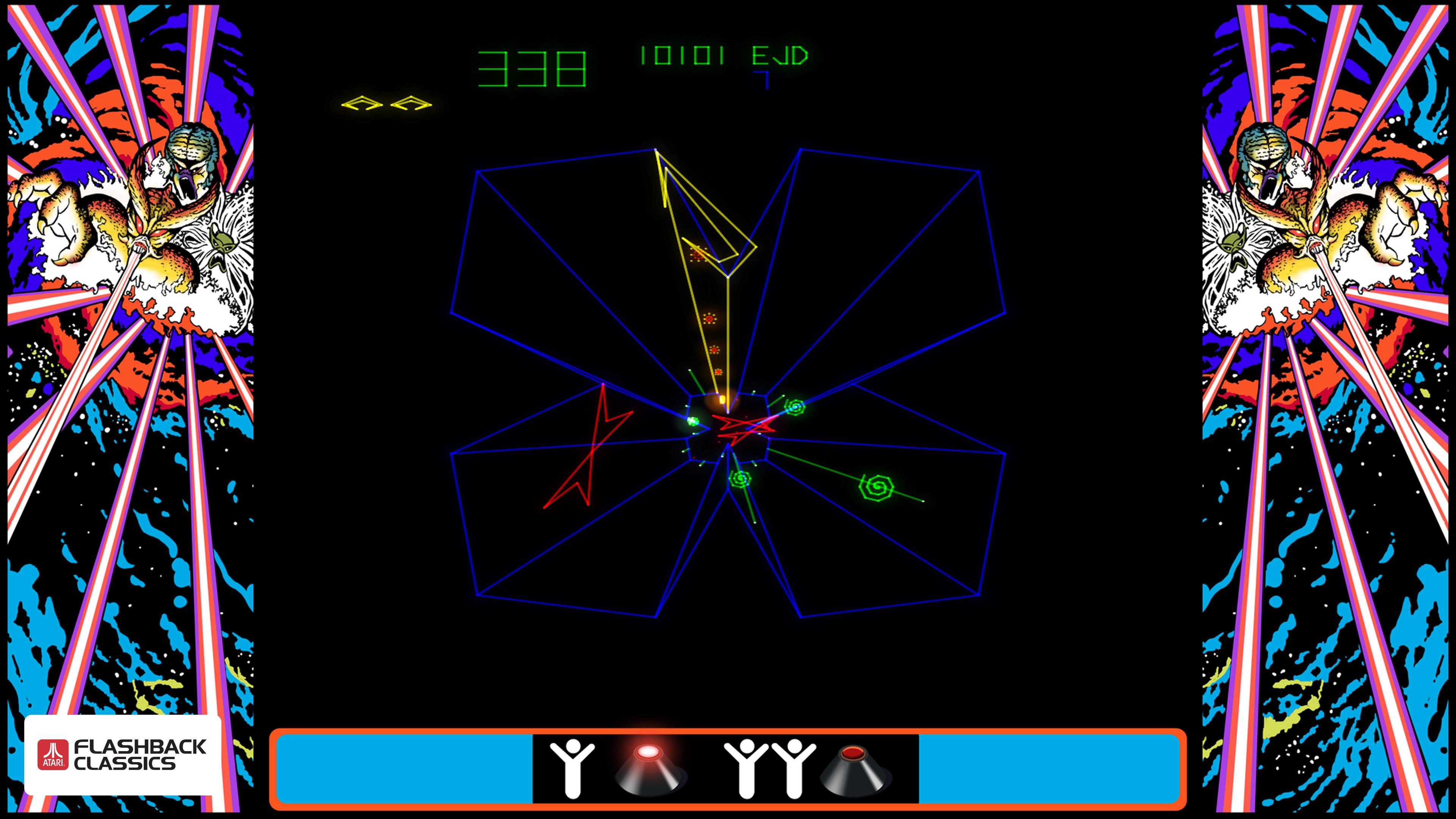 Atari Flashback Classics Volume 1 Review Tempest PS4