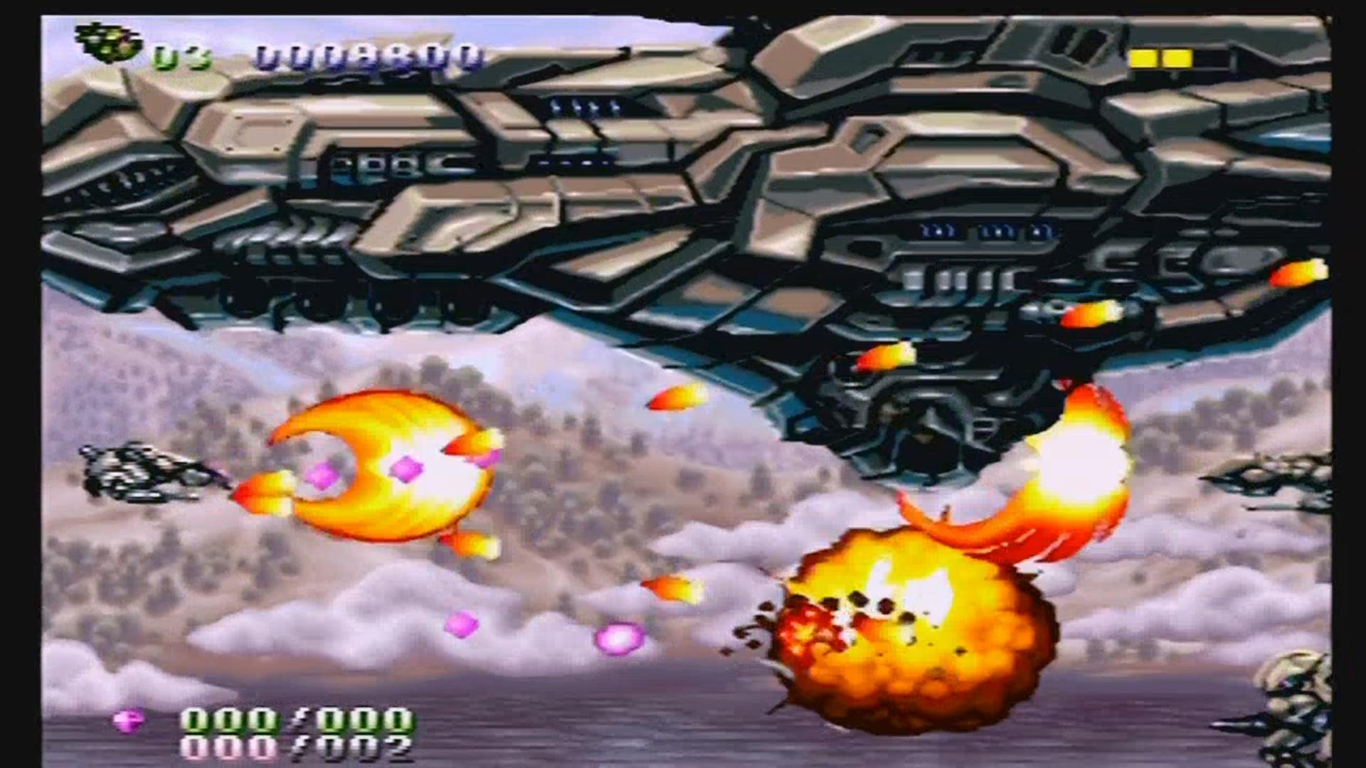 Gunlord SEGA Dreamcast Review