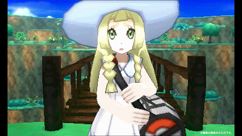 Lillie from Pokemon Sun and Moon